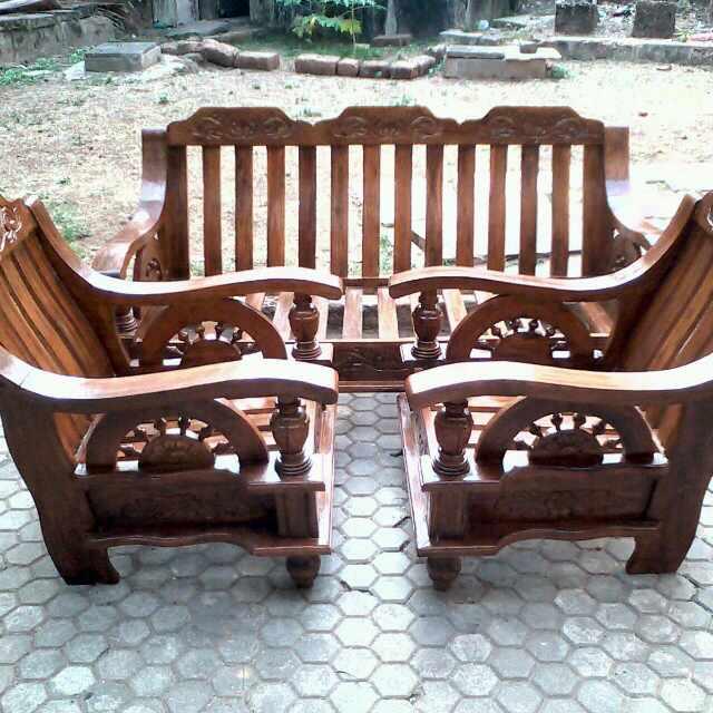 Teak Wood Sofa Designs India  Loopon Sofa