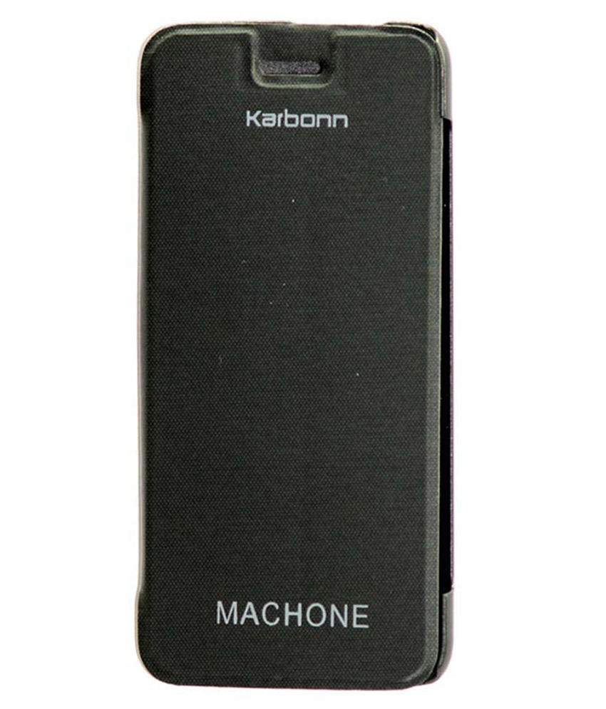 is computer a gadget buy jmd karbonn machone s310 black flip cover black 22738