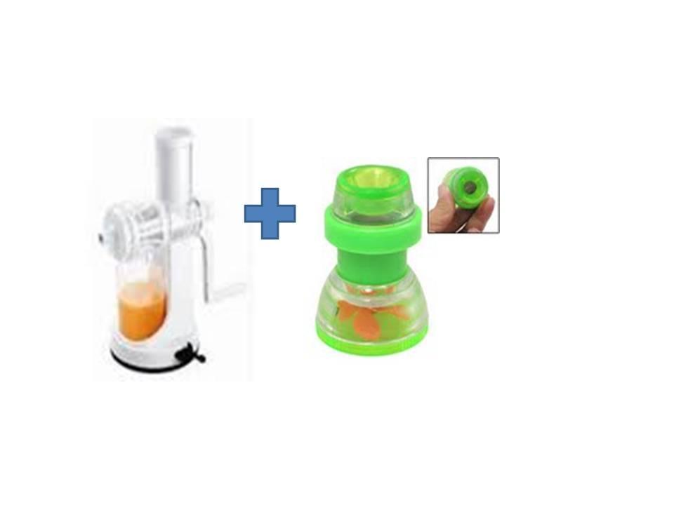 Buy Ganesh Plastic Fruit & Vegetable Juicer & Get 2 Pcs Plastic Faucet Tap Free