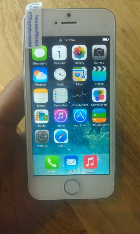 first ever iphone iphone 5 s 10599