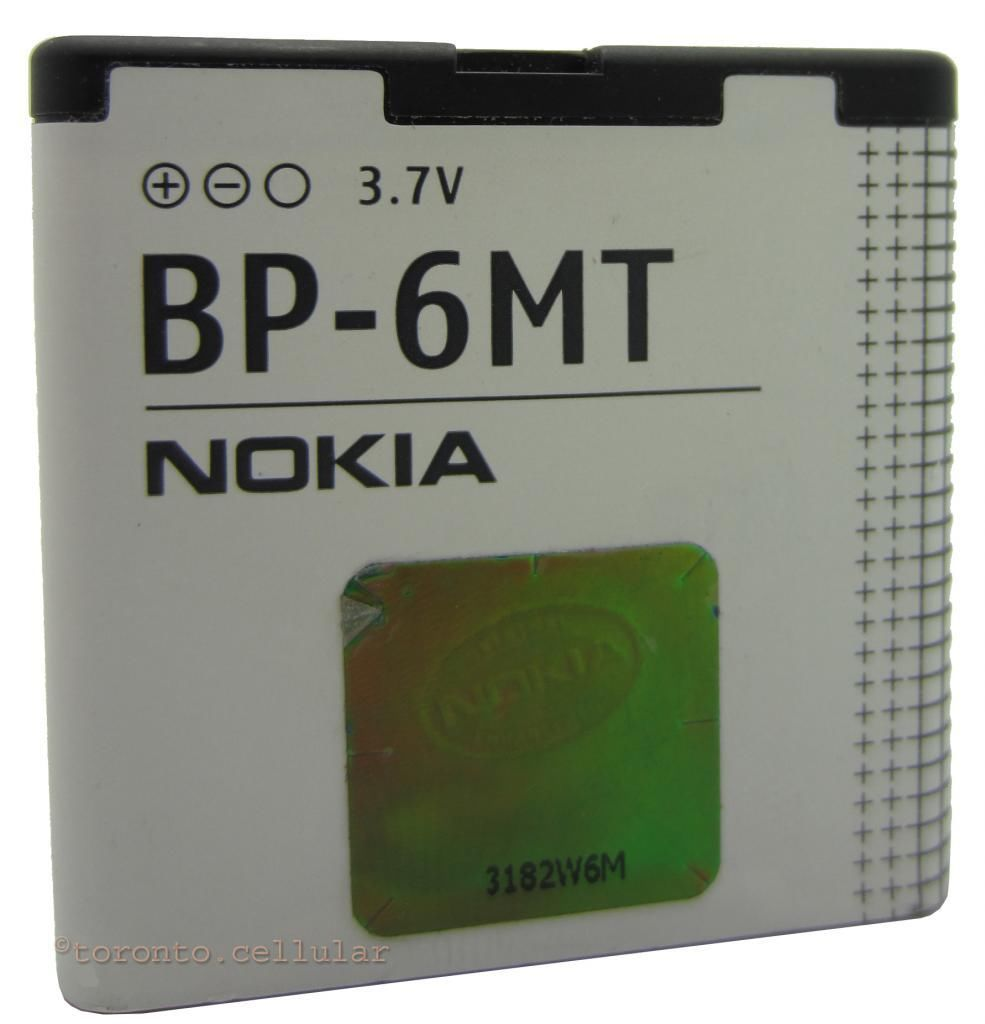 Nokia BP-6MT Battery For E51 N81 8GB N82 6350 6750