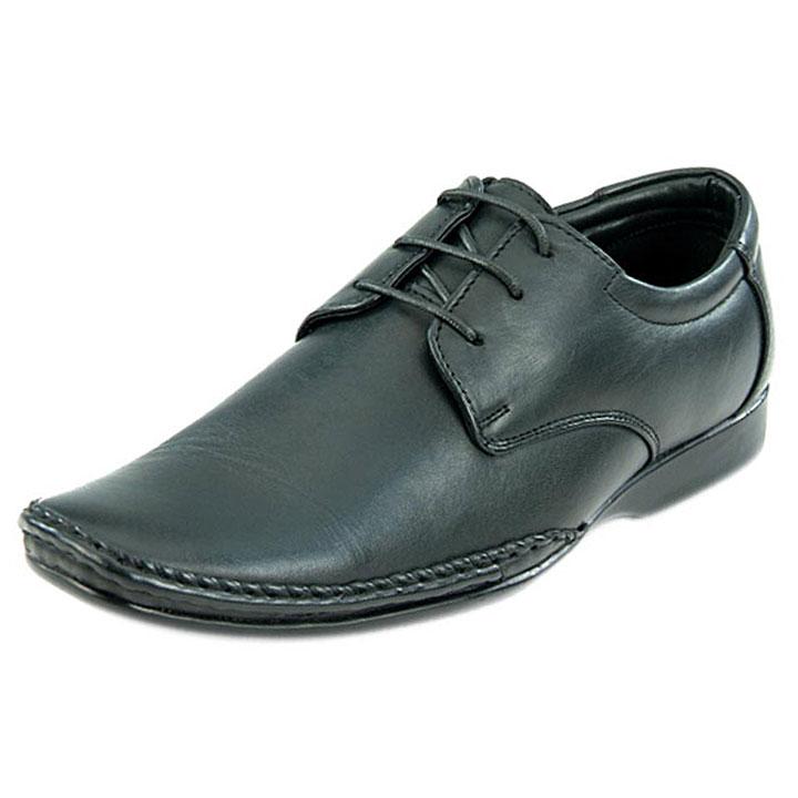 Franco Leone 9433 Black Men's Formal Shoes