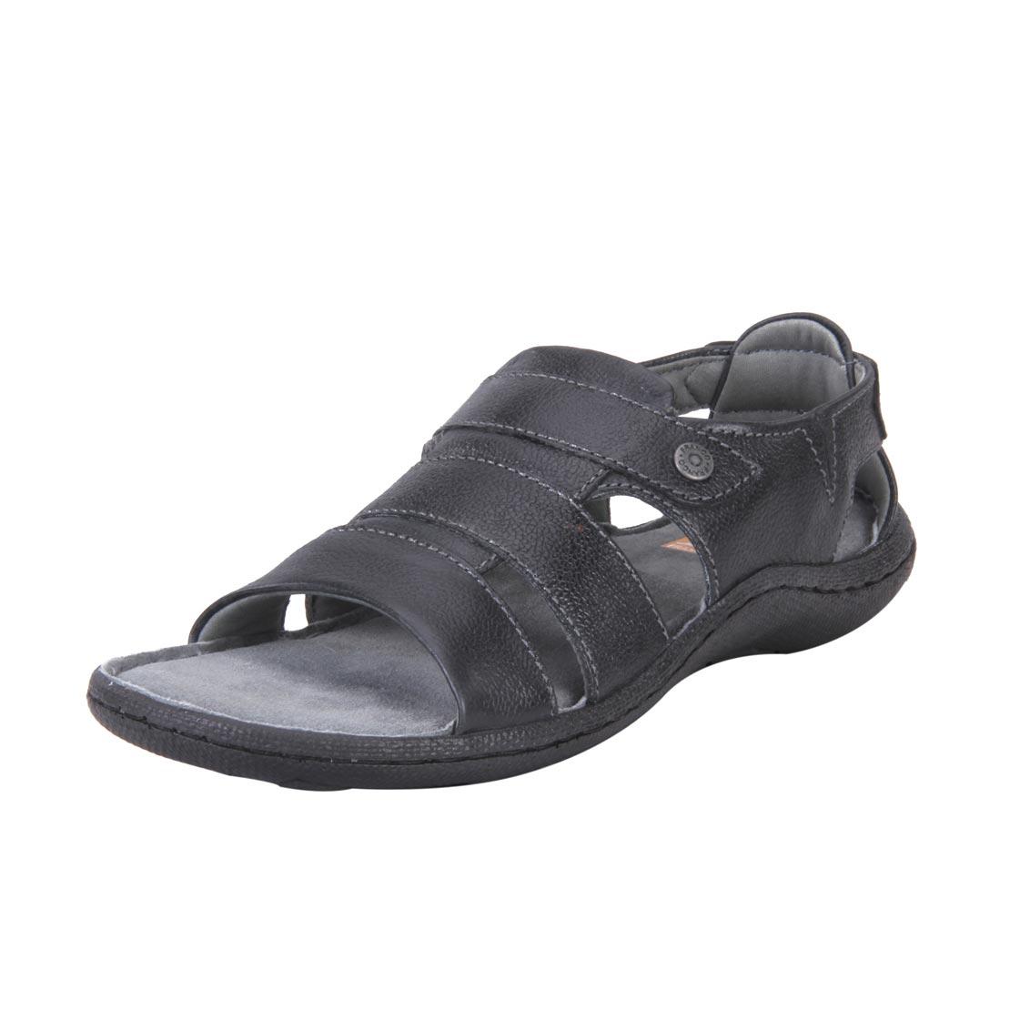 Franco Leone 9510 Black Men's Sandals