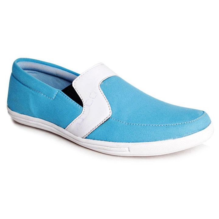 Bacca Bucci Smart Sky Blue Slip-on Shoes