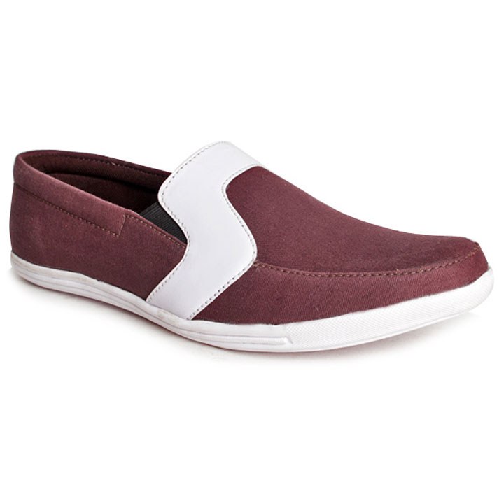 Bacca Bucci Distinct Brown Slip-on Shoes