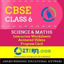 OZTERN Class 6 CBSE  Program-USB (Science & Math's)