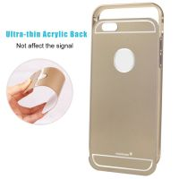 Callmate Aluminum Metal Bumper Case With Removable Back Coverfor IPhone 6 Plus-G