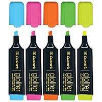 Luxor Gloliter Pen Set(Assorted 5 Color) 2 Sets