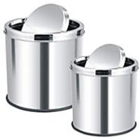 King-International Swing Dustbin L & M