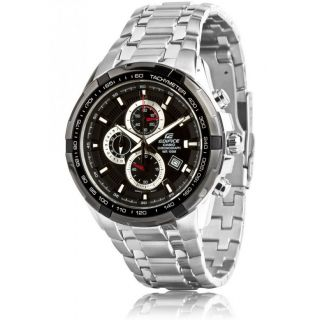 CASIO EDIFICE EF 539D-1AV BLACK DIAL CHRONOGRAPH STYLISH MENS WRIST WATCH GIFT B