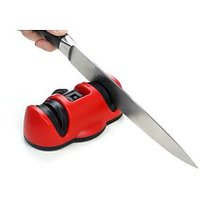 Knife Sharpener Knife Dual Diamond Sharpener With Suction Pad
