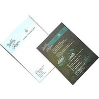Invitation Card-v6004 - With Envelope (Pack Of 100 Cards)