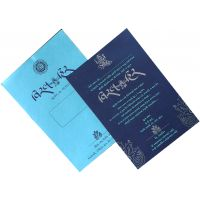 Invitation Card-v6029 - With Envelope (Pack Of 100 Cards)