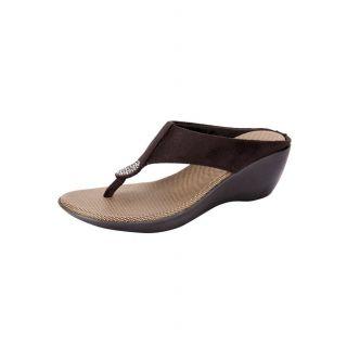 Awssm Fashion Mid Wedge Slipper 6286P_Awssm_Black