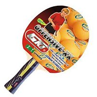 GKI Offensive XX Table Tennis Racket (with Wooden Cover)