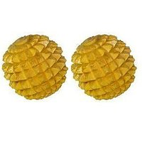 Combo Of  Wooden Ball Massger Ball With Free Acupressure Hand Roller Cum Jimmy