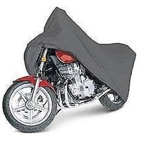 Bike Cover For All Bikes Universal Size With Double Pocket (Black)