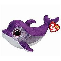 TY- FLIPS - Purple Dolphin Reg