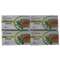 GREEN TEA THULSI 100 TEA BAGS 4 BOXES FREE SHIPPING
