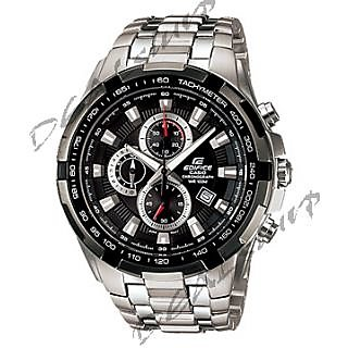 IMPORTED CASIO EDIFICE EF - 539 D -AV, Black Dial, Steel Chronograph Men Watch (Imported)