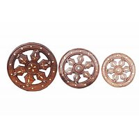 Wheel Shape Key Holder Set Of 3