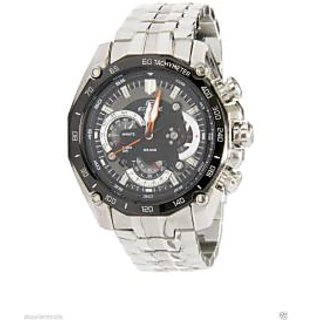 Casio Edifice Chronograph Black Dial Men's Watch - EF-550D-1AVDF [CLONE]