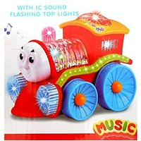 Engine With Lights, Bump And Go Action