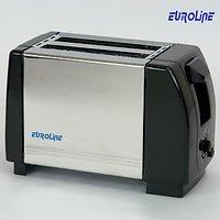 Euroline Pop Up Toaster 2 Slice Stainless Steel (EL 840)