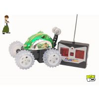 BEN10 STUNT RC CAR STUNT WITH FULL FUNCTIONAL REMOTE CONTROLL