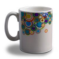 Rings Coming Out Of Man Coffee Mug