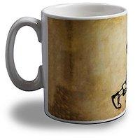 Heavy Metal Guitarist Coffee Mug