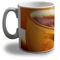 Hot Coffee Print Coffee Mug