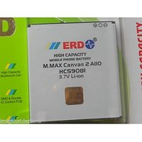 ERD Battery For Micromax Canvas 2 A110