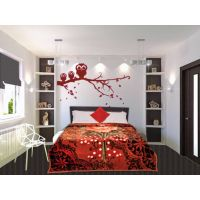 Sparkk Double Bed Romance Mink Blanket Multi Color Printed 220*240 Cm(Approx.)