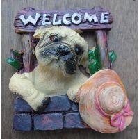 Premium Miniature Fridge Magnets- Cute Puppy (Imported)