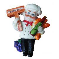 Premium Miniature Fridge Magnets- Welcome Chef (Imported)