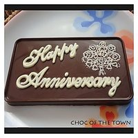 Happy Anniversary Chocolate Wall Best Gift To Your Loved One With Gift Box