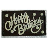 HAPPY BIRTHDAY DARK CHOCOLATE WALL With Gift Box