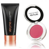 VeryMe Peach Me Perfect Skin Glow - Dark + Cherry My Cheeks(Pink)