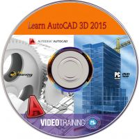 Learn AutoCAD 3D 2015 Video Tutorial DVD