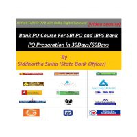 18 Pack Bank PO DVD Course (DVD)-English Version