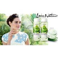Ori Flame Love Nature Aloe Vera Set Face Wash Toner N Cream