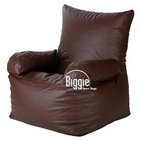 Cozy Bags Bean Arm Chair Brown Without Beans