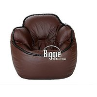Cozy Bags Bean Bucket Chair Brown Without Beans