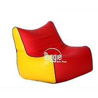 Cozy Bags Bean Chair XL Size Yellow Red  Without Beans