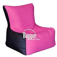 Cozy Bags Bean Chair XL Size Pink+Black Without Beans