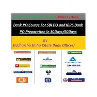 Bank PO Full Course (12 DVDs) - Study Material On All Topics, Video Solutions, P