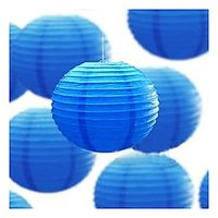 16 Inch Paper Lamp Round Pack Of 4