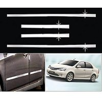 Car Steel Chrome Side Beading For Toyota Etios