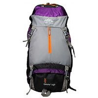 Mount Track Gear Up 9105 Rucksack, Hiking Backpack 60 Ltrs Purple